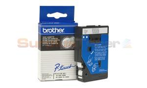 BROTHER P-TOUCH TAPE WHITE/CLEAR 9MM X 7.7M (TC-195)