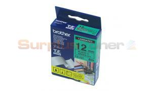 BROTHER PT-1000 LAMINATED BLACK ON GREEN TAPE (TZ-731)