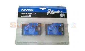 BROTHER TC SERIES TAPE CTG BLACK/CLEAR 3/8IN (TC-MOZ)