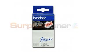 BROTHER TC TAPE BLACK ON ORANGE 12 MM X 6.6 M (TC-B01)