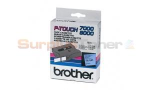 BROTHER TX TAPE BLACK ON BLUE 24 MM X 15 M (TX-551)