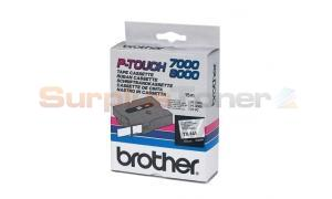BROTHER TX TAPE BLACK ON CLEAR 18 MM X 15 M (TX-141)