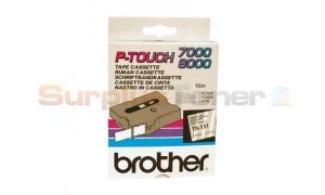 BROTHER TX TAPE BLACK ON CLEAR 24 MM X 15 M (TX-151)