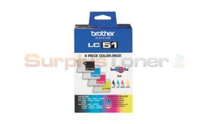 BROTHER DCP-130C INK CART BLACK/COLOR (LC-514PKS)