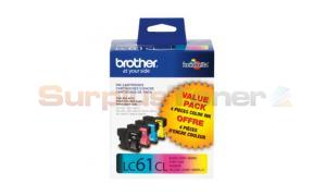 BROTHER DCP165C INK CART BLACK/COLOR (LC-614PKS)
