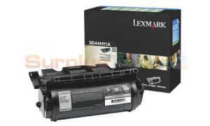 LEXMARK X644E RP PRINT CARTRIDGE BLACK 21K (X644H11A)