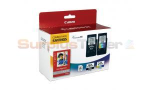 CANON PG-240XL CL-241XL INK CTG CMYK PAPER COMBO PACK (5206B005)