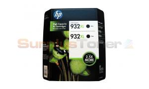HP NO 932XL INK CARTRIDGE BLACK TWIN-PACK (CR315BN)