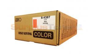 RISO SOY INK RED (S-4387)