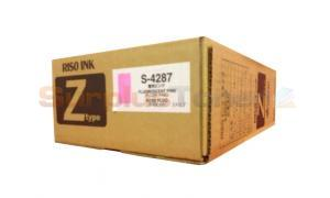 RISO RZ-200 INK FLUORESCENT PINK  (S-4287)