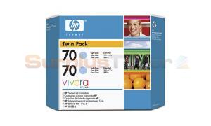 HP DESIGNJET Z2100 NO 70 INK LIGHT CYAN (CB351A)