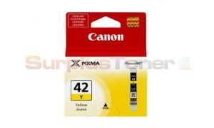 CANON CLI-42Y INK TANK YELLOW (6387B002)