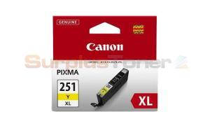 CANON CLI-251XL INK TANK YELLOW (6451B001)