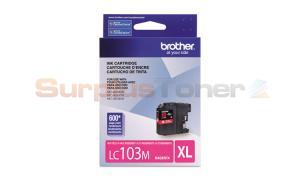 BROTHER MFC-J4610DW INK CART MAGENTA HY (LC-103MS)