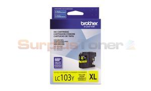 BROTHER MFC-J4610DW INK CART YELLOW HY (LC-103YS)