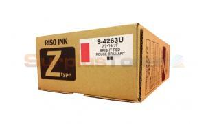 RISO Z TYPE INK BRIGHT RED (S-4263U)
