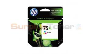 HP NO 75XL INKJET PRINT CARTRIDGE TRI-COLOR (SD435AN)