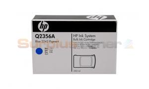 HP 2242 BULK INK CARTRIDGE BLUE PIGMENT (Q2356A)