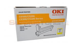 OKI C5100 5300 IMAGE DRUM YELLOW (42126609)