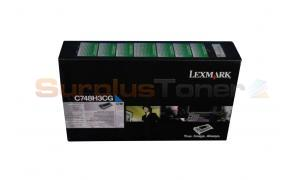 LEXMARK C748 CORPORATE TONER CARTRIDGE CYAN 10K (C748H3CG)