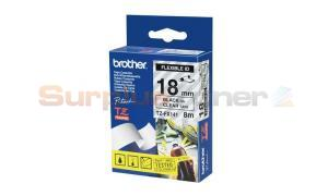 BROTHER TZ FLEXI ID TAPE BLACK ON CLEAR 18MM X 8M (TZ-FX141)
