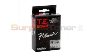 BROTHER TZ FLEXI ID TAPE BLACK ON CLEAR 24MM X 8M (TZ-FX151)