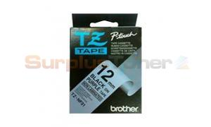 BROTHER TZ NON-LAMINATED TAPE BLACK ON PURPLE 12MM X 8M (TZ-NF31)