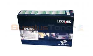 LEXMARK C524 TONER CARTRIDGE BLACK RP 8K (C524RKH)
