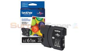 BROTHER DCP165C INK CARTRIDGE BLACK (LC-61BKS)