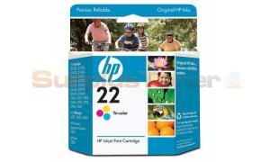 HP NO 22 INK CARTRIDGE TRI-COLOR (C9352AE)