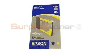 EPSON ULTRACHROME PRO 7800 9800 YELLOW INK 110ML (T562400)