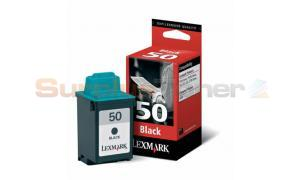 LEXMARK NO 50 PRINT CARTRIDGE BLACK (17G0050E)