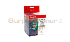 CANON BC-34E INK CARTRIDGE PHOTO COLOR 340 PAGES (4612A003)