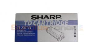 SHARP Z-20 TONER/DEVELOPER BLUE (ZT-20TD3)