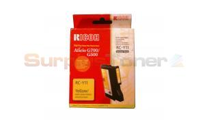 RICOH G500 RC-Y11 GEL CARTRIDGE YELLOW 1.15K (402281)