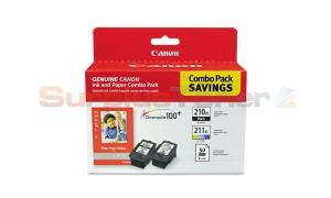 CANON PG-210XL CL-211XL INK CTG CMYK COMBO PACK (2973B004)