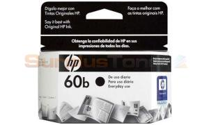 HP 60B INK CARTRIDGE BLACK (CC636WL)