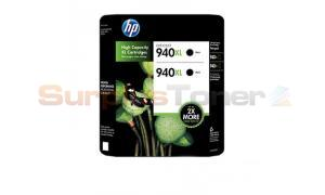 HP 940XL INK BLACK TWIN PACK (CH633BN)