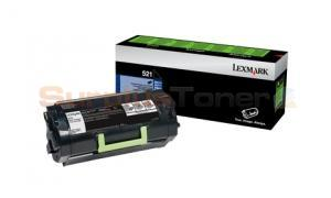 LEXMARK MS812 RP TONER CARTRIDGE 6K (52D1000)
