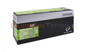 LEXMARK NO 522 RP TONER CARTRIDGE 6K (52D2000)