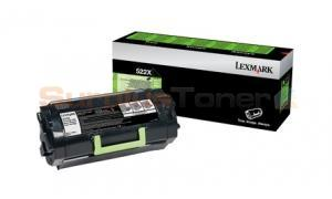 LEXMARK NO 522X RP TONER CARTRIDGE 45K (52D2X00)