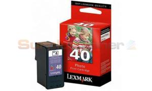 LEXMARK NO. 40 PRINT CARTRIDGE PHOTO (18Y0140)