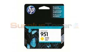 HP OFFICEJET NO 951 INK CARTRIDGE YELLOW (CN052AL)