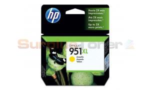 HP OFFICEJET NO 951XL INK CARTRIDGE YELLOW (CN048AL)