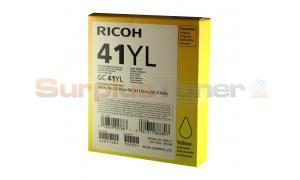 RICOH AFICIO SG 2100N INK CARTRIDGE YELLOW (405768)