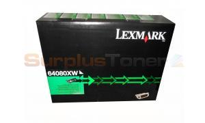LEXMARK T640 T642 TONER CARTRIDGE HY (64080XW)
