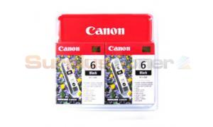 CANON BCI-6BK INK CART BLACK TWIN PACK (4705A046)