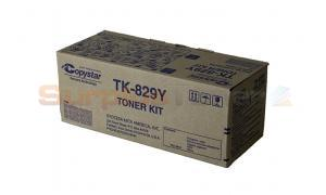 COPYSTAR CS C2520 TONER YELLOW (TK-829Y)