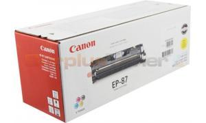 CANON EP-87 TONER CARTRIDGE YELLOW (7430A004)