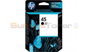 HP JET 710 820 1220 1600 INKJET CART BLACK (51645G)